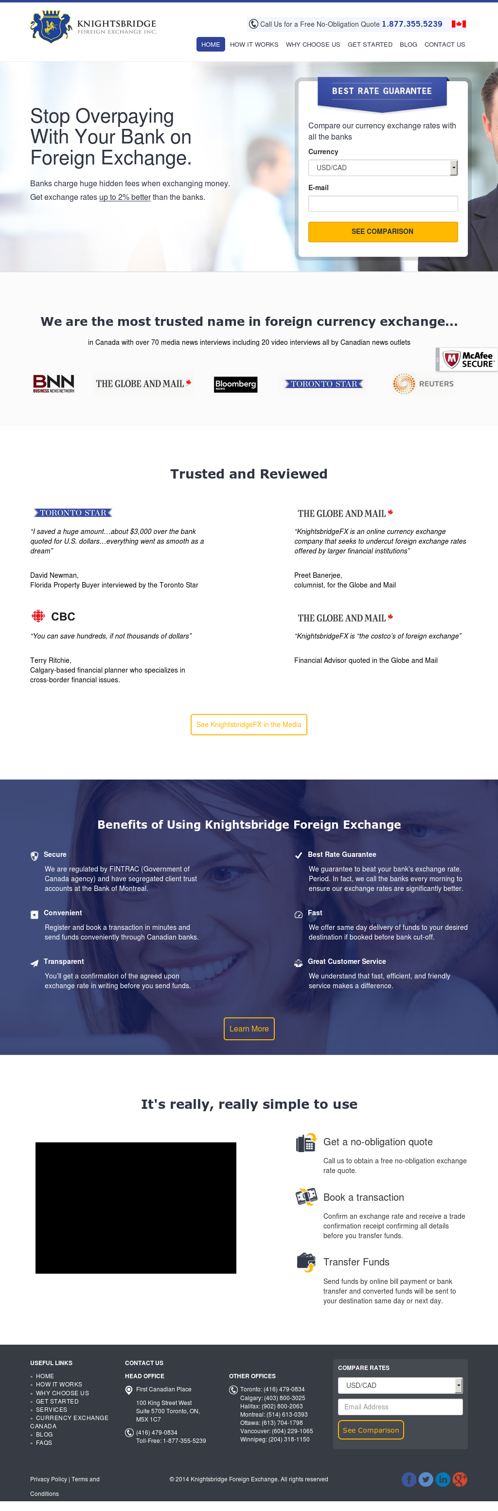 Knightsbridge Foreign Exchange Compeors Revenue And Employees Owler Company Profile