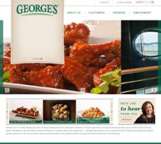 George's website history