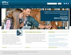 Immunovaccine website history