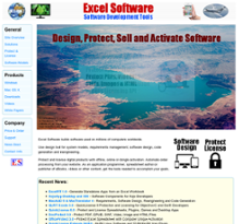 Excel Software website history