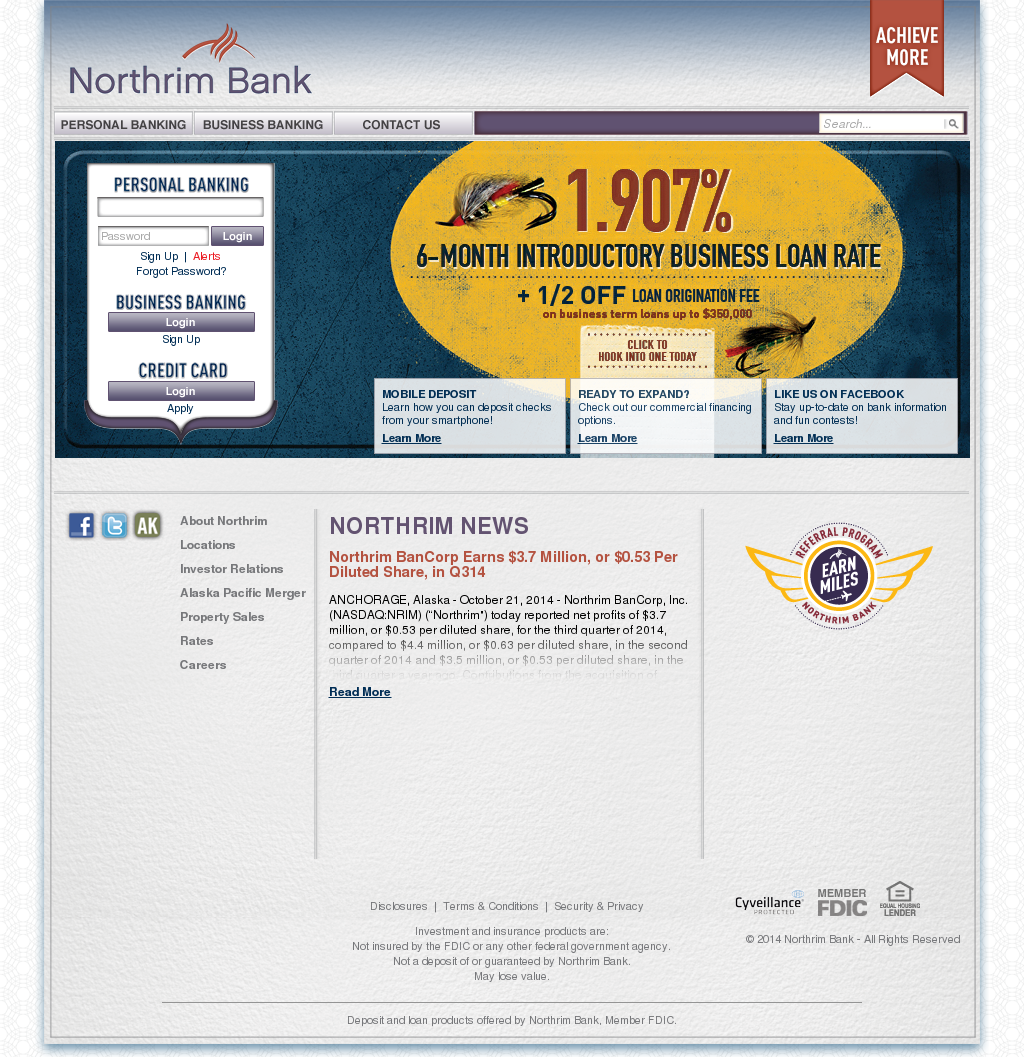 northrim bank competitors, revenue and employees - owler company profile