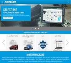 Motor Information System website history