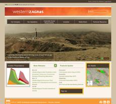 WesternZagros website history