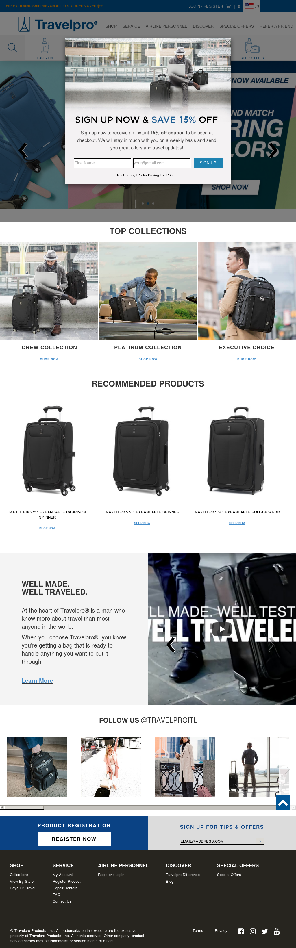 Travelpro Compeors Revenue And Employees Owler Company