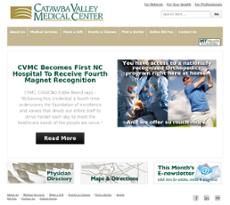 Catawba Valley Medical Center website history