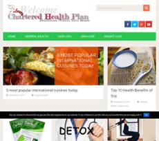 Chartered Health Plan website history