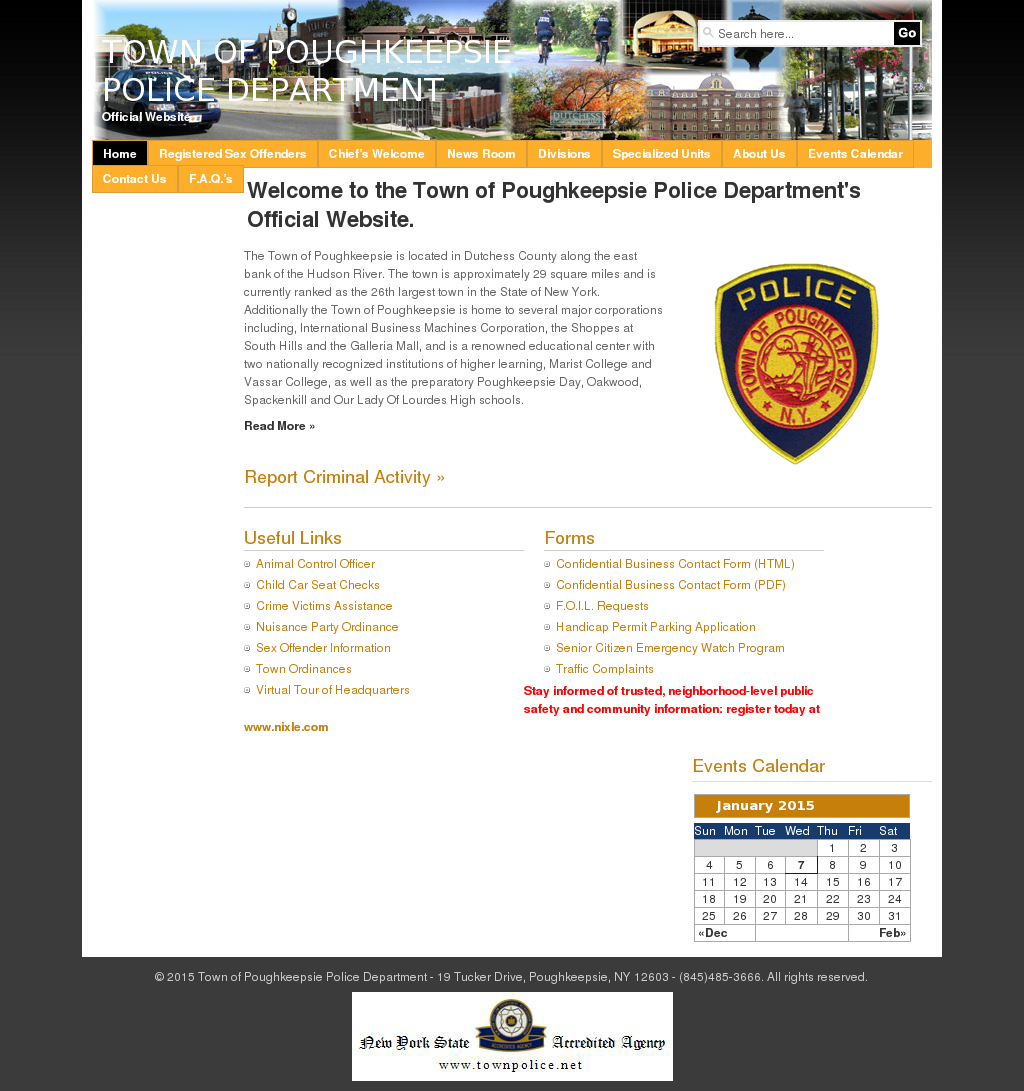 Town of Poughkeepsie Police Department Competitors, Revenue