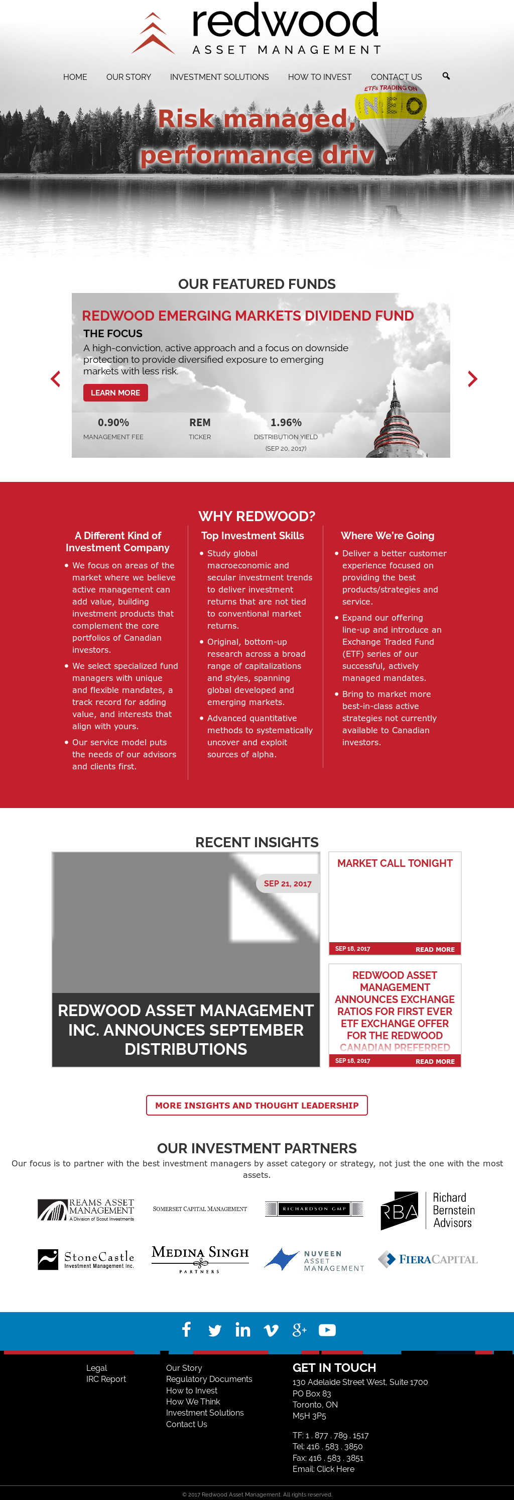 Redwood Asset Management Competitors, Revenue and Employees