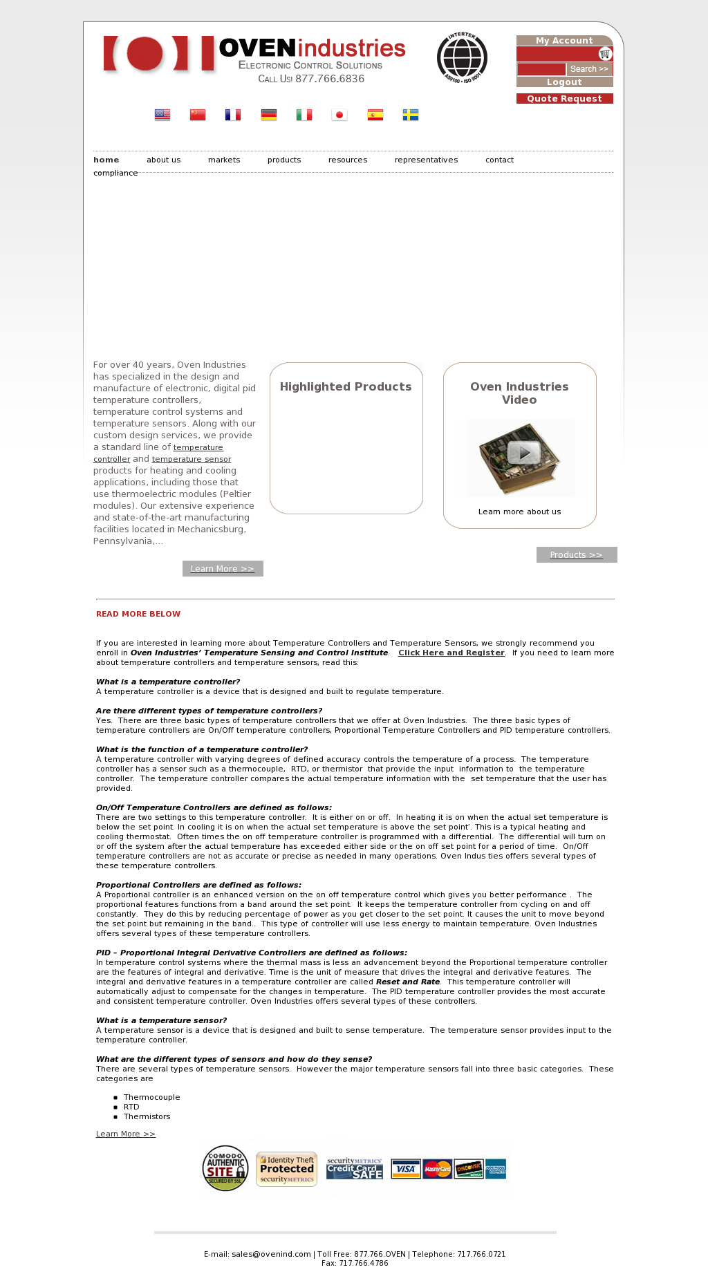 Ovenind Competitors Revenue And Employees Owler Company Profile On Off Temperature Control