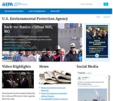 EPA website history