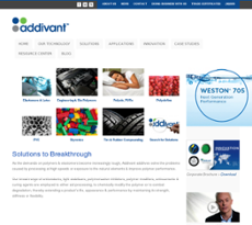 Addivant website history