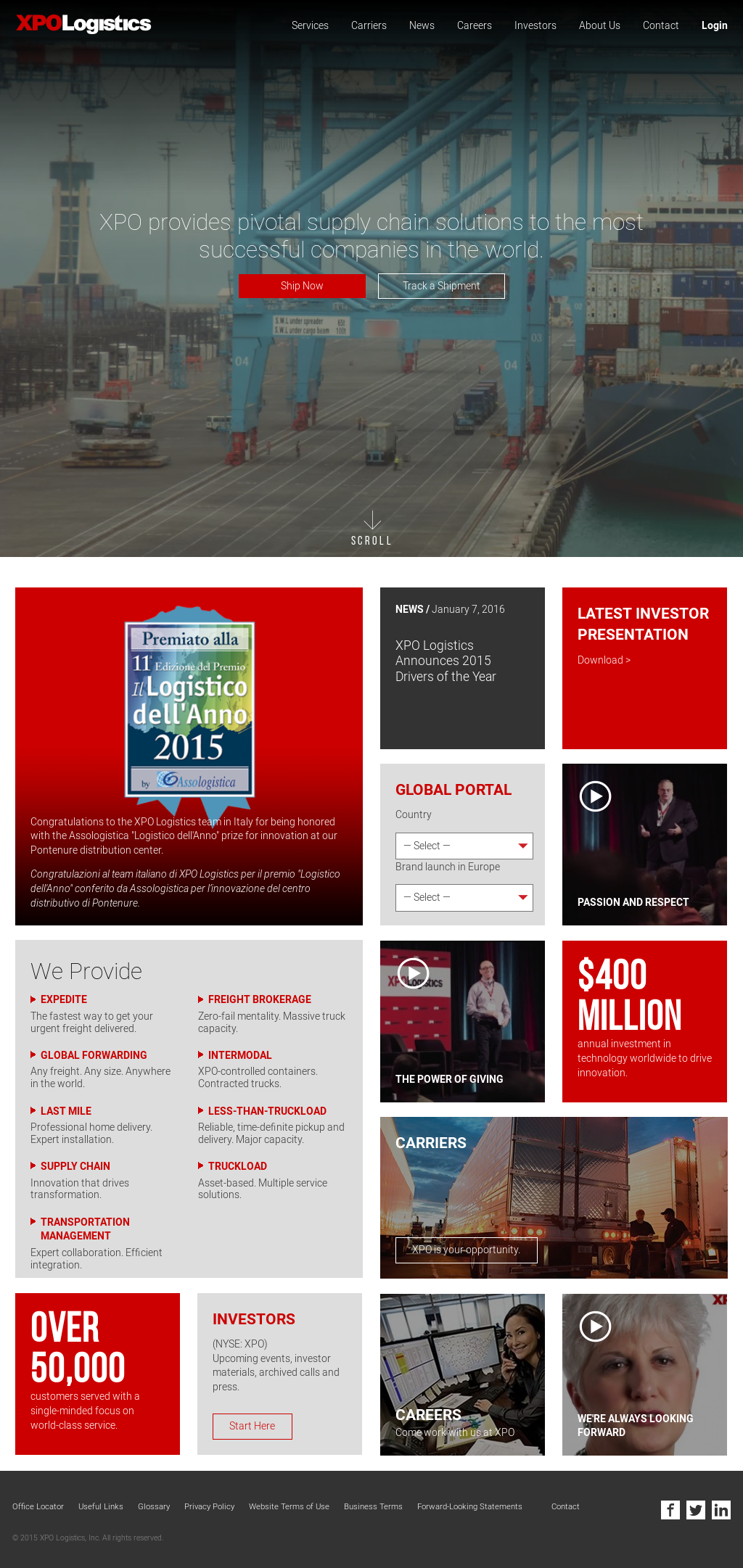 XPO Logistics Competitors, Revenue and Employees - Owler Company Profile