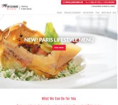 Air Culinaire Worldwide website history