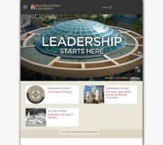 SDSU website history