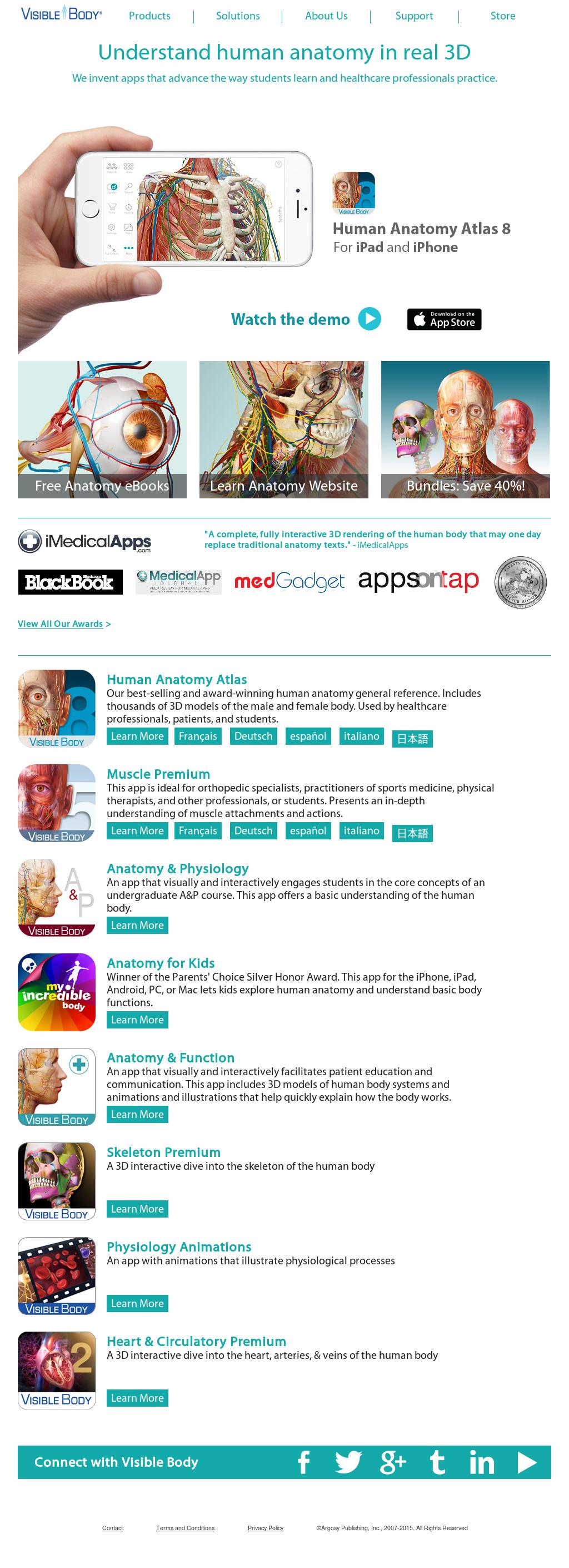 4d Anatomy App Choice Image - human body anatomy