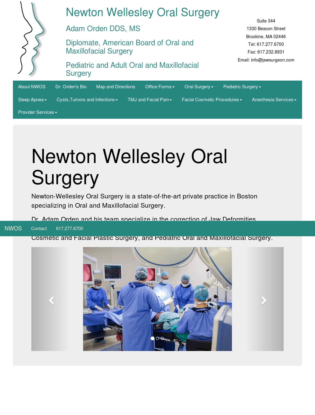 Newton Wellesley Oral Surgery Competitors, Revenue and Employees