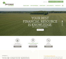 Farm Credit Mid-America website history