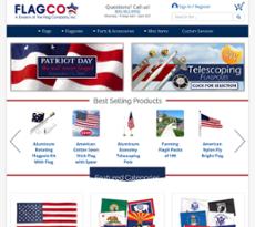 Flag Company website history