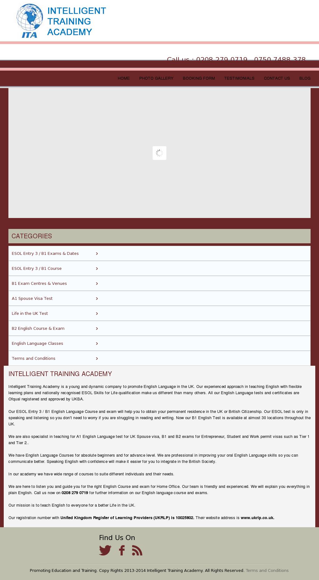 Owler Reports - ITA Blog B1 English test UK