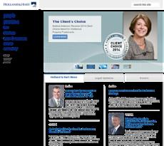 Holland Hart website history