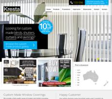 Kresta website history