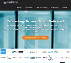 Millennium Search website history