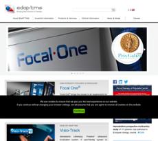 EDAP TMS SA website history