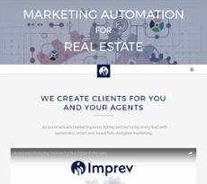 Imprev website history