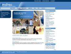 Prolitec website history