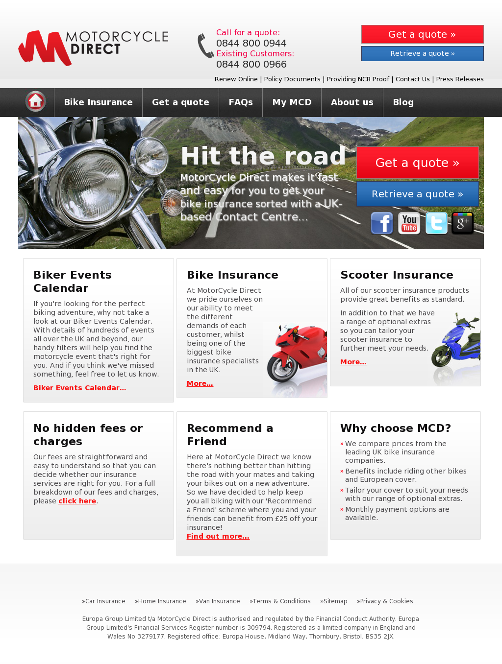 Motorcycle Direct Insurance