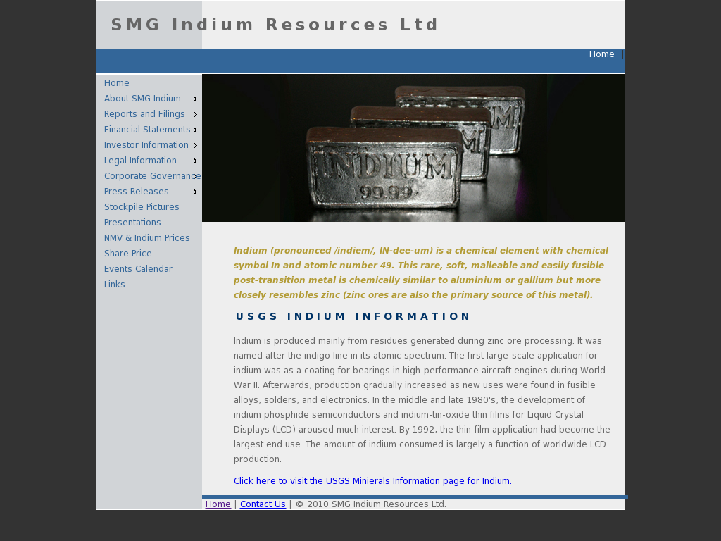 Smg Indium Competitors Revenue And Employees Owler Company Profile