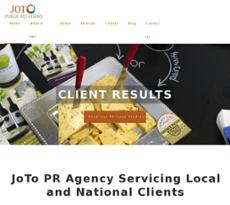 JoTo PR website history