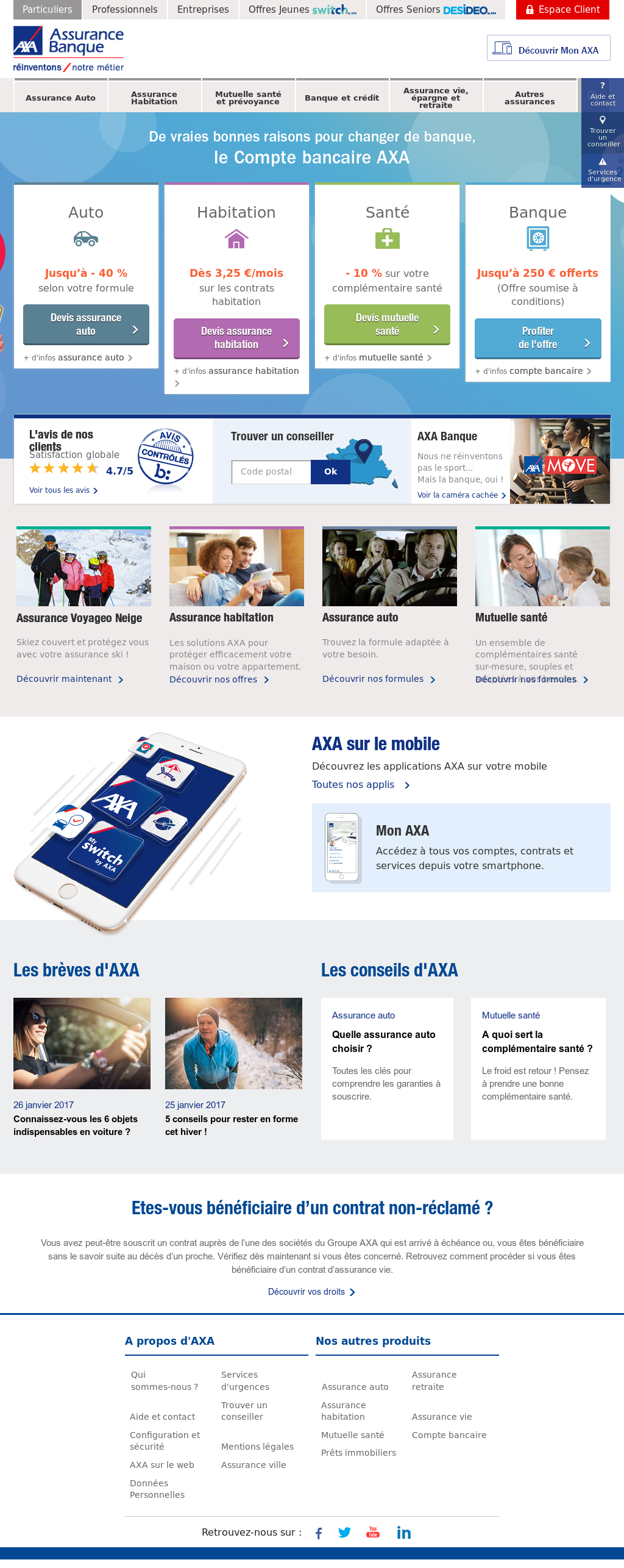 Axa Banque Competitors Revenue And Employees Owler