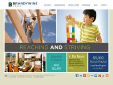 Brandywine Homes website history