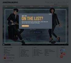 Johnston and Murphy website history