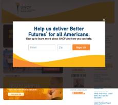 UNCF website history