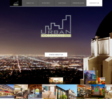 Urban Commons website history