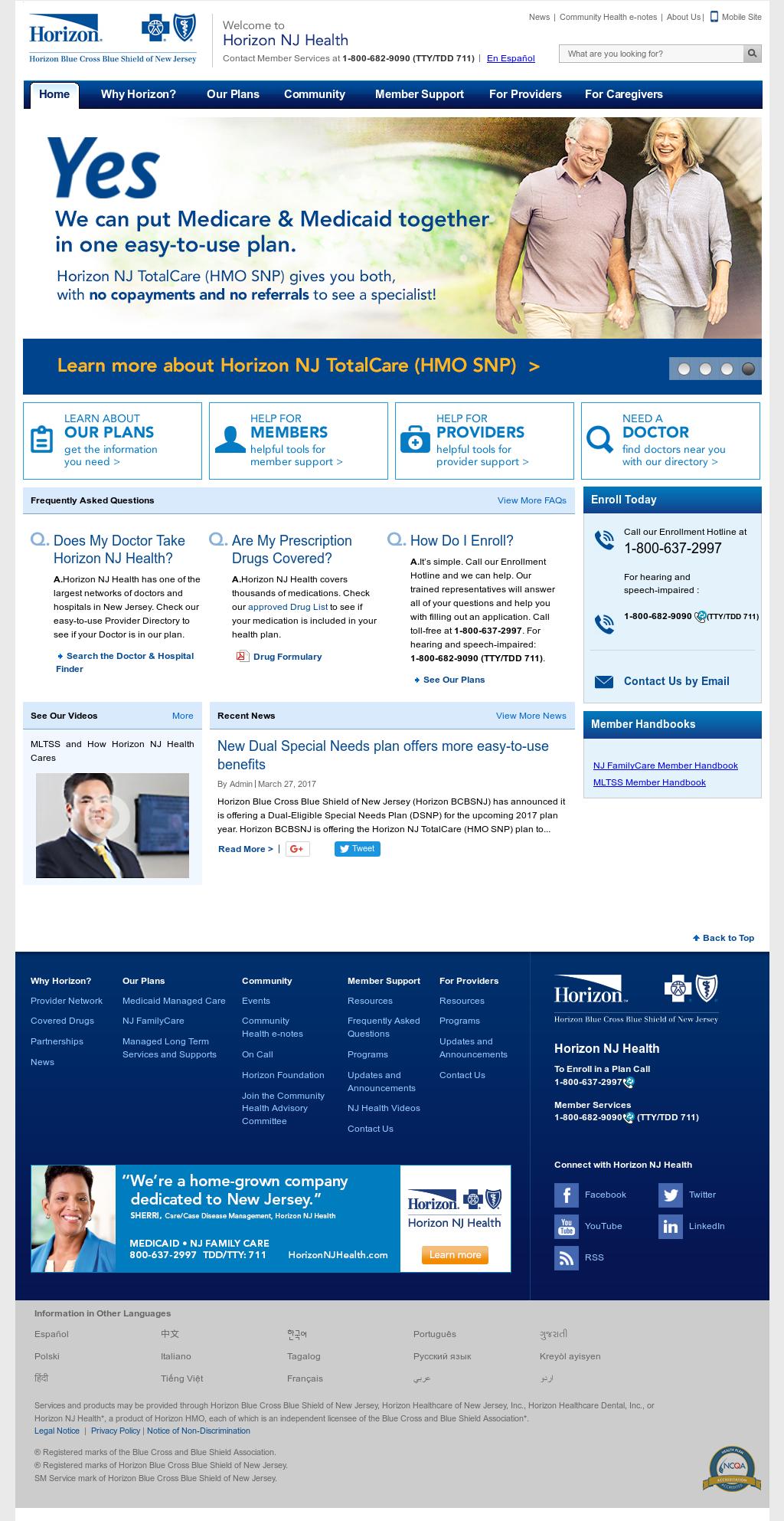 Horizon NJ Health Competitors, Revenue and Employees - Owler Company