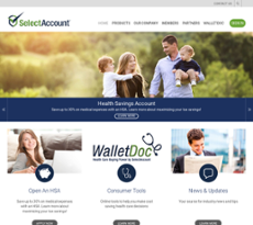 SelectAccount website history