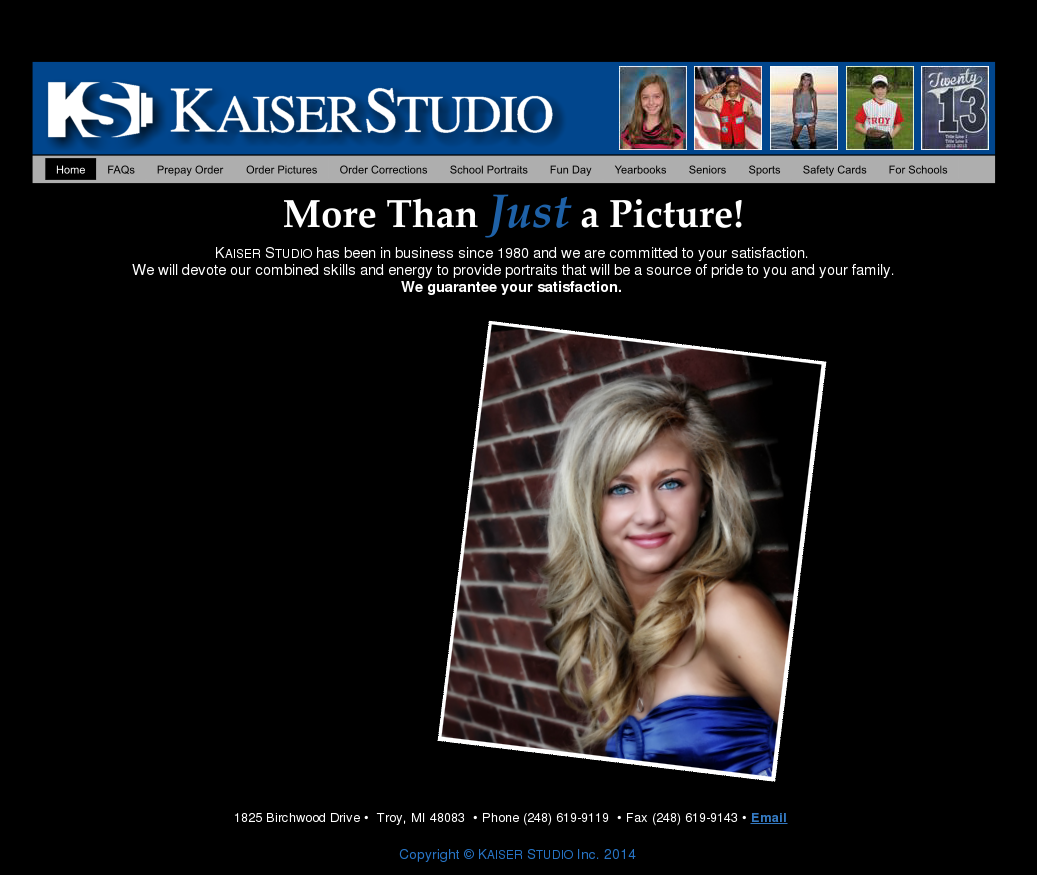 kaiser dating site At the end of the day, online dating isn't that different from offline dating there are creeps and spammers both on the web and in real life, and there are good guys, too, kaiser says if something feels off, like the pacing, vibe, or language—it probably is.