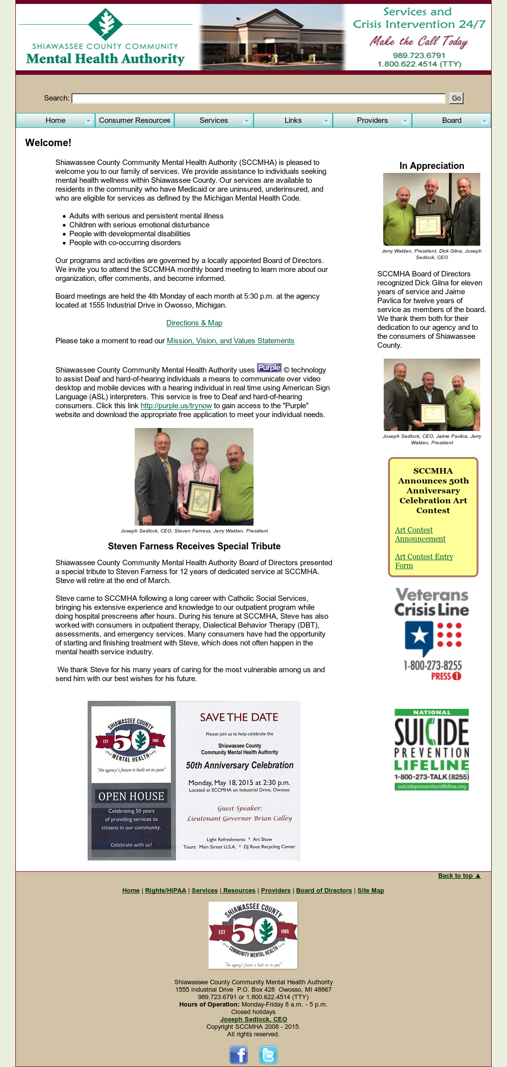 shiawassee county community mental health
