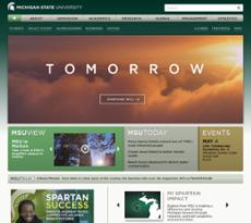 MSU website history