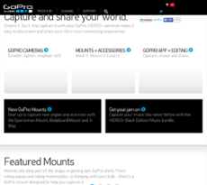 GoPro website history
