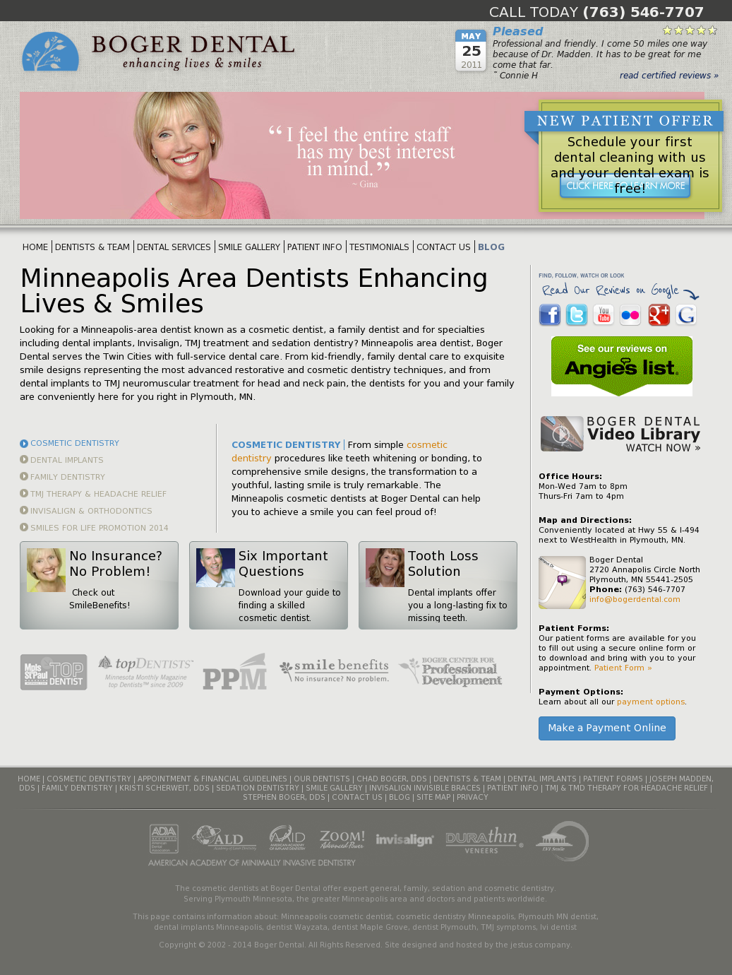 Boger Dental Competitors Revenue And Employees