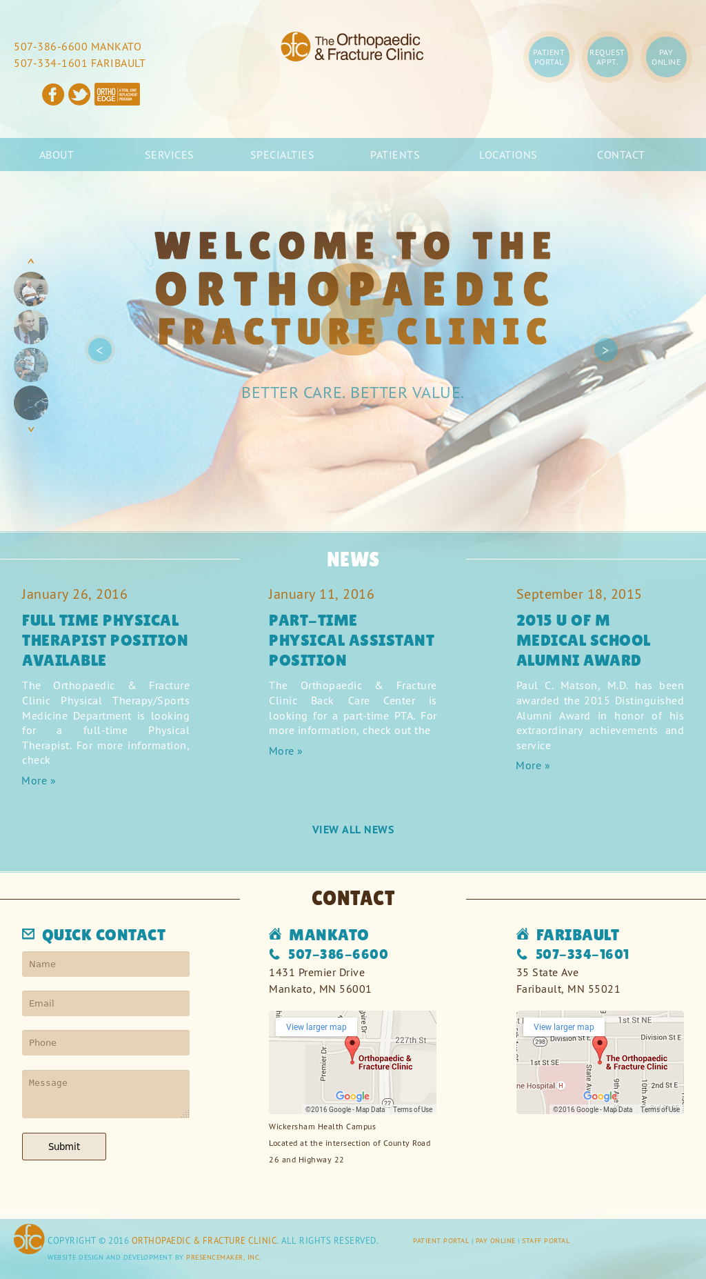 The Orthopaedic Fracture Clinic Competitors Revenue And Employees