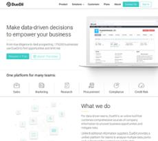 Duedil website history