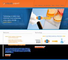 Liquid Light website history