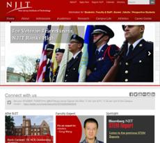 NJIT website history
