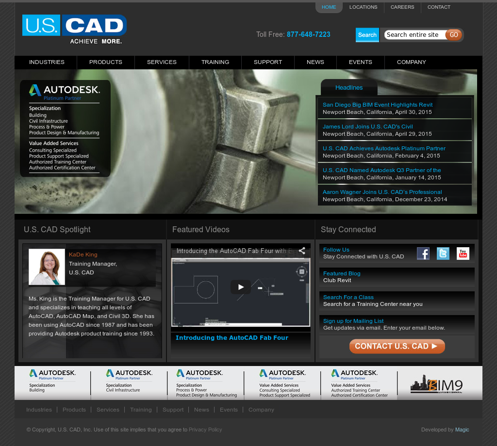 U S  CAD Competitors, Revenue and Employees - Owler Company
