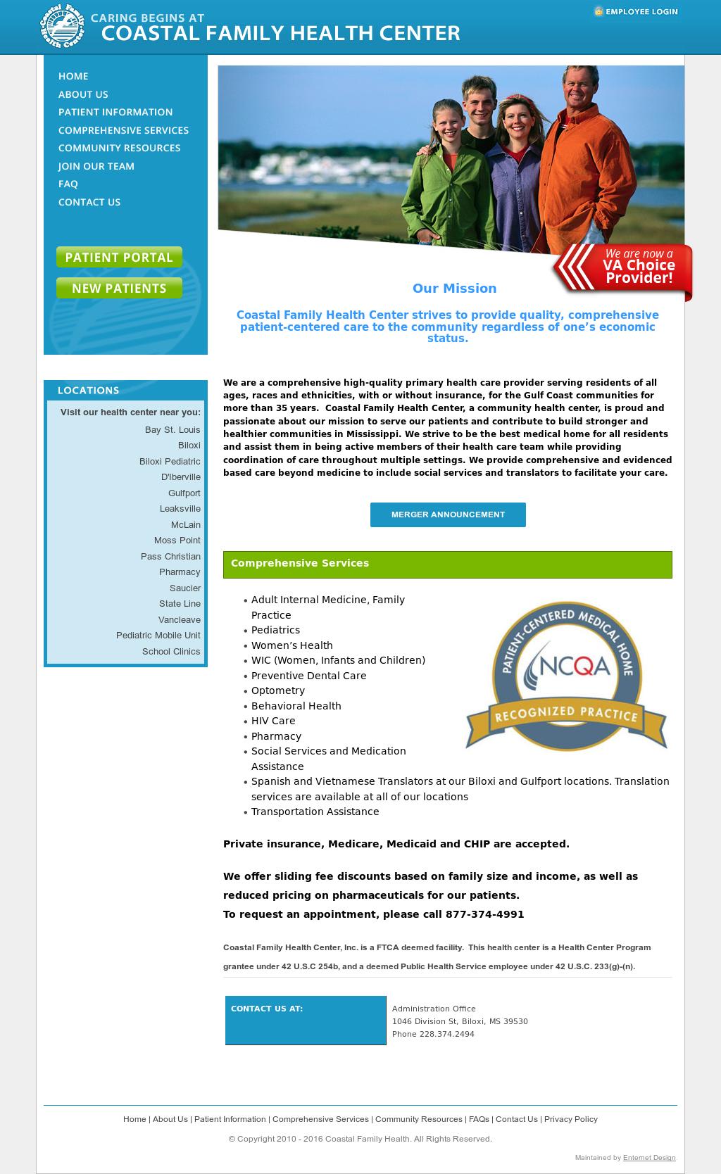 Coastalfamilyhealth Competitors Revenue And Employees Owler